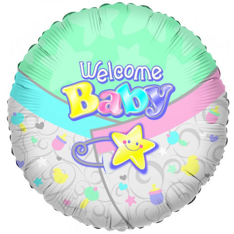 Welcome Baby Diaper - 18""