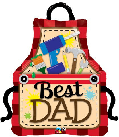 Best Dad Apron - 41""
