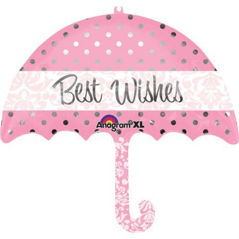 SuperShape Best Wishes Umbrella - 30""