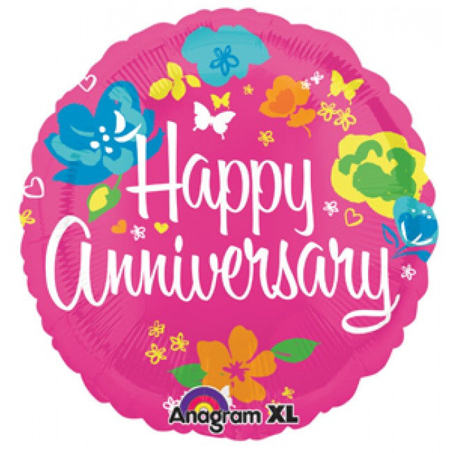 ColorBlast Floral and Butterfly Anniversary - 21""