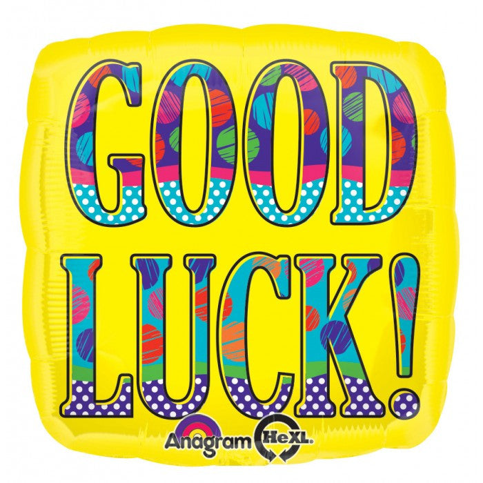 ColorBlast Bold Yellow Good Luck - 21""