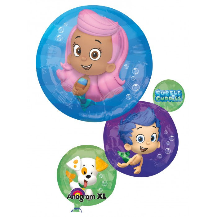 Bubble Guppies Supershape - 28""
