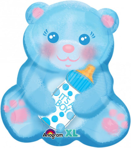 Junior Shape Baby Bear with Bottle - 18""