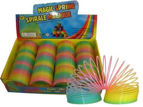 Glow-in-the-Dark Rainbow Spring