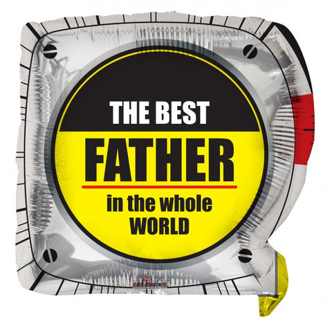 Best Father Tape Measure - 18""