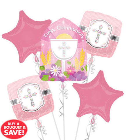 Communion Blessings Bouquet Pink or Blue