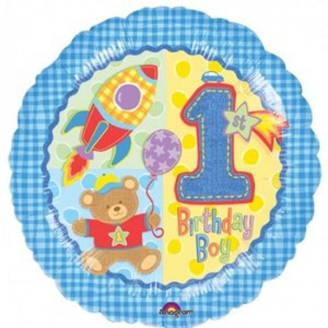 Hugs & Stitches 1st Birthday - 18""