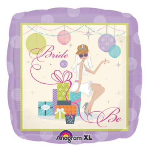 Shower Chic Bride - 18""