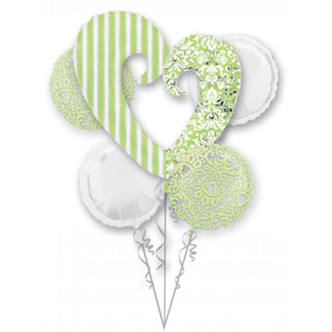 Honeydew Wedding Bouquet & Party Packages