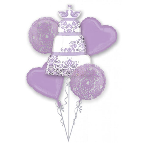 Lilac Wedding Bouquet & Party Packages