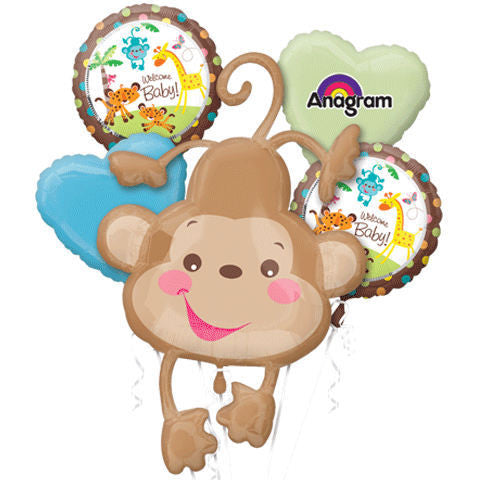 Fisher Price Monkey Bouquet & Party Packages