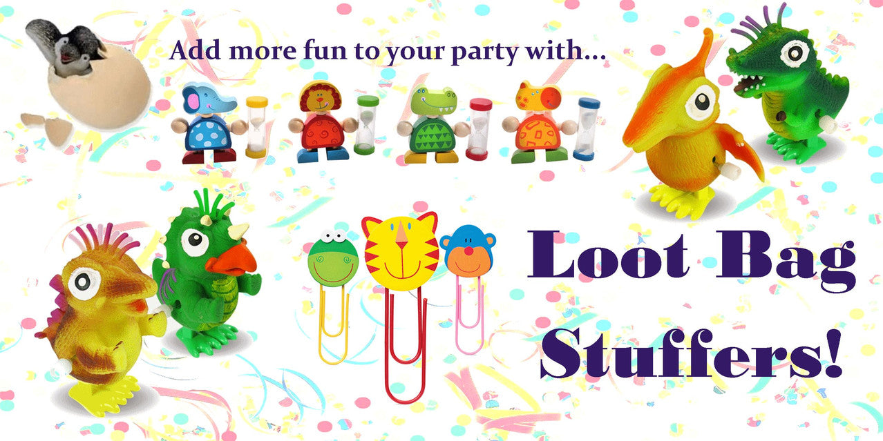 Fun loot bag stuffers for amazing parties!