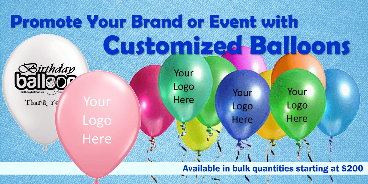 Promote Your Brand or Event with Customized Balloons