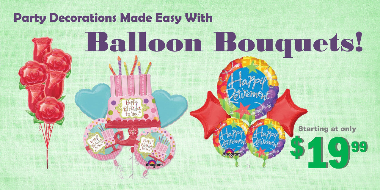 Celebrate with Balloon Bouquets