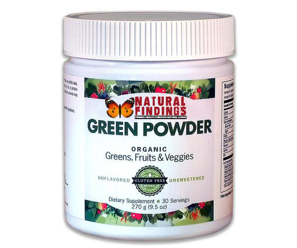 Use Natural Findings Green Powder in Recipes