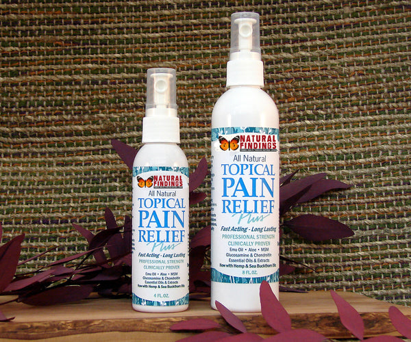 Topical Pain Relief Plus Belongs in Every Medicine Cabinet