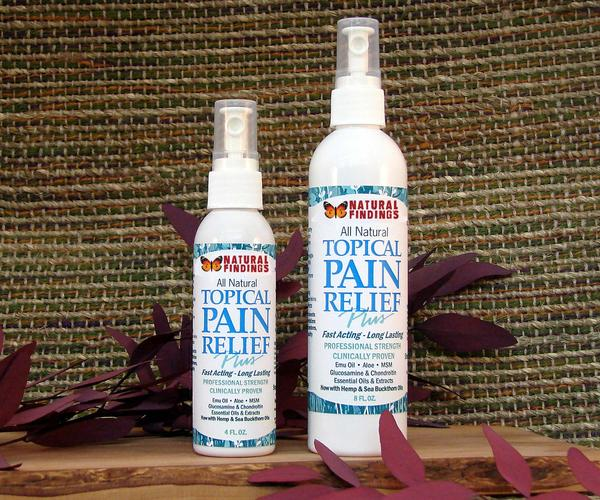 Topical Pain Relief Plus