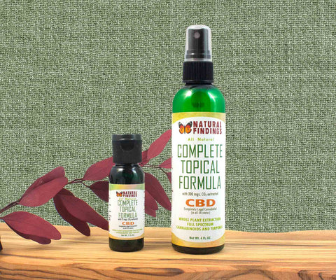 Natural Findings Complete Topical Formula with CBD
