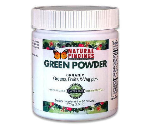 Natural Findings Green Powder