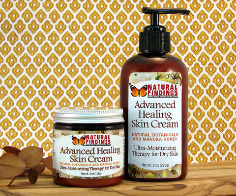 Natural Awakenings Advanced Healing Skin Cream - 4oz and 8oz Pump Bottle