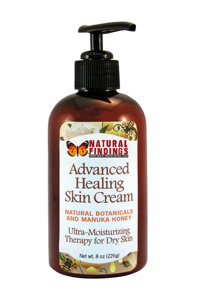 Natural Findings Advanced Healing Skin Cream 8oz Pump Bottle