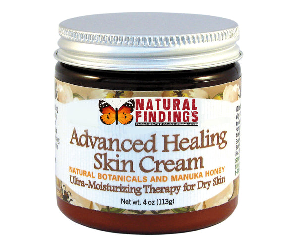 Natural Findings Advanced Healing Skin Cream 4oz Jar