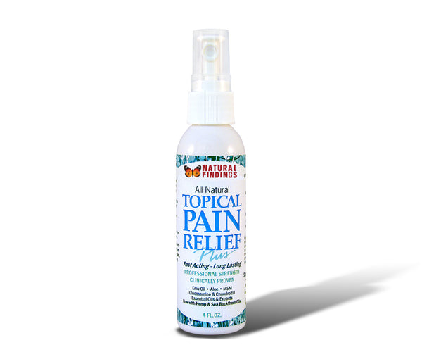 Natural Findings Topical Pain Relief Plus 4oz