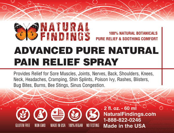 Advanced Pure Natural Pain Relief Spray