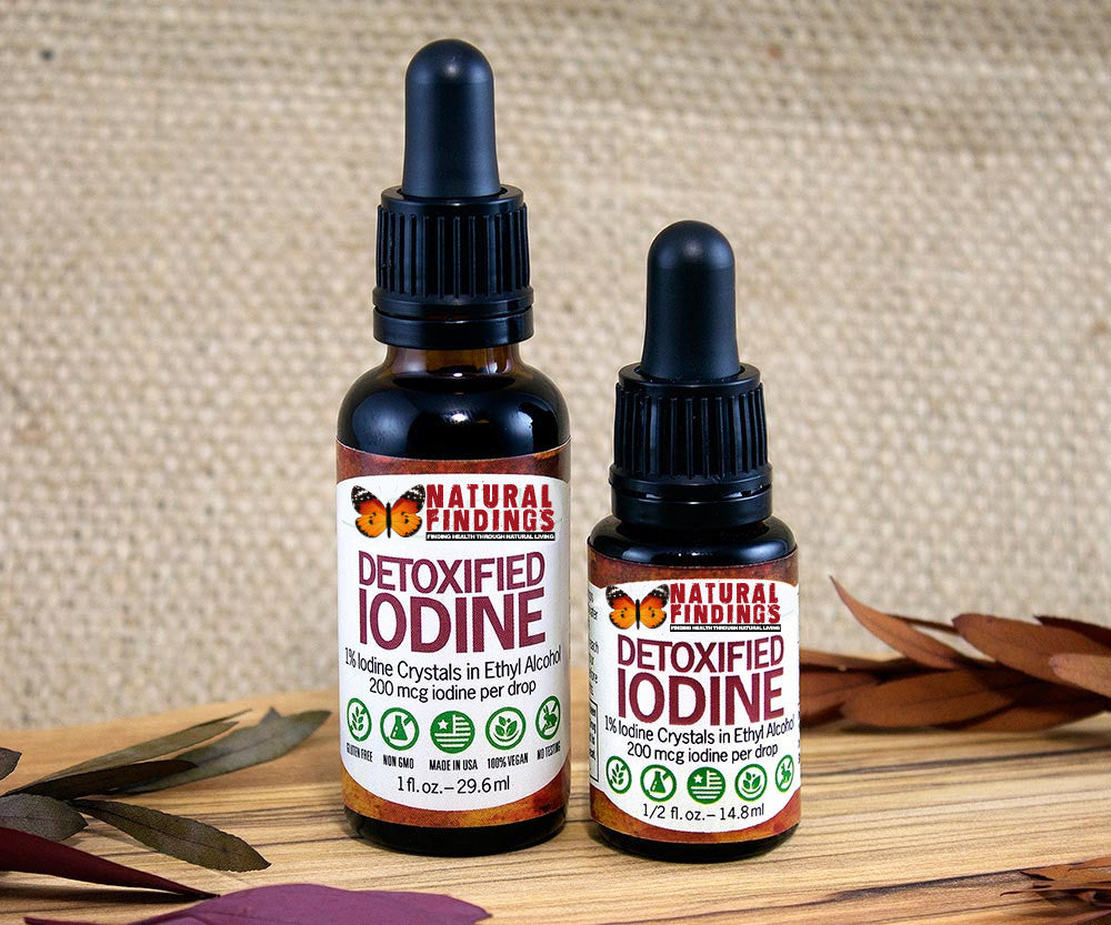 Natural Findings Detoxified Iodine
