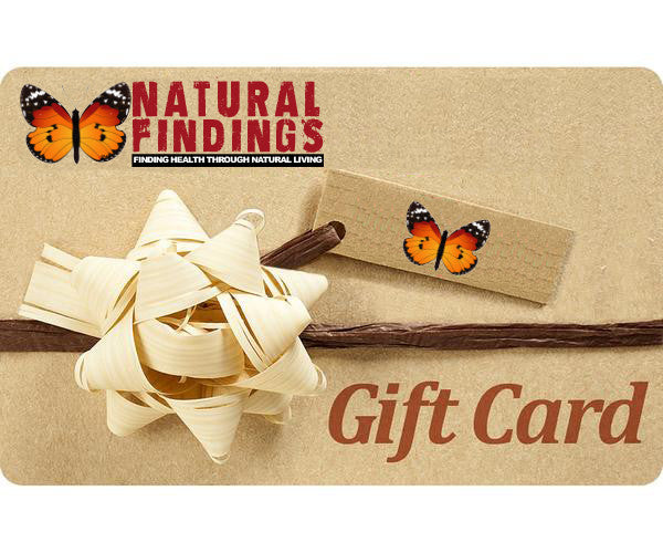 Natural Findings Gift Card