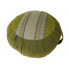 Thai Kapok Zafu Yoga Meditation Cushion A (Green)