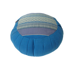 Thai Kapok Zafu Yoga Meditation Cushion A (Blue)