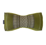 Kapok Chinese Neck Support Pillow ~ Green