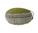 Thai Kapok Zafu and Zambutan Meditation Cushion Set B (Green)