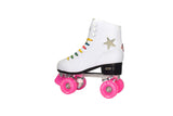 Crazy Skates - Disco White Roller Skate Package DRW - California Roller Skates