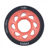 Radar Halo Onyx Grey Urethane Tire with Light Pink Hub - 93A