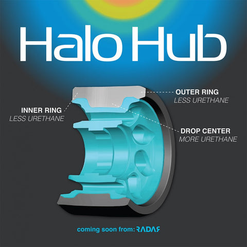 Radar - Halo Roller Skate Wheels - 4 Pack - DERBY - California Roller Skates