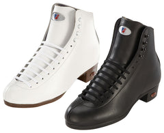 Riedell - High Top Boots - 120J Award Black and White - California Roller Skates