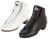 Riedell - High Top Roller Skate Boots - 120 Award Black and White - California Roller Skates
