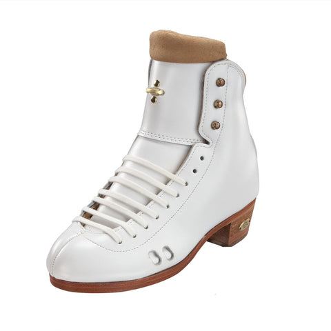 Riedell - High Top Roller Skate Boots - 2010R Imperial Black and White - California Roller Skates