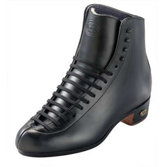 Riedell - High Top Boots -101J Retro Black and White - California Roller Skates