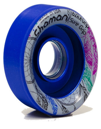 Sure Grip - Shaman by Hyper Roller Skate Wheels (8 Pack) - California Roller Skates