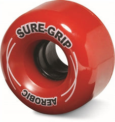Sure Grip - Aerobic Wheels - Black, Blue, Green, Orange, Pink, Purple, Red, Yellow (8 pack) - California Roller Skates