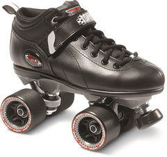 Sure Grip -  Boxer Skates - BLACK - California Roller Skates