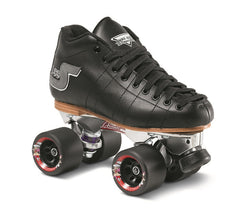Sure Grip - S-55 Skate Package Black (Sizes  4-13) - California Roller Skates