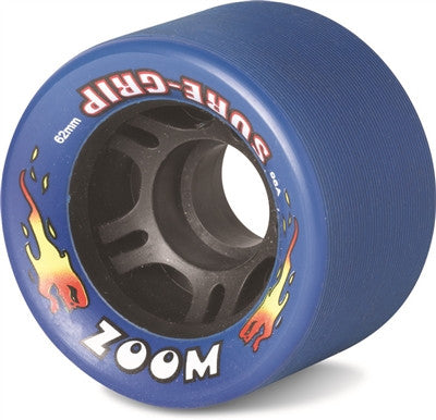 Sure Grip  - Zoom Wheels -  Black, Blue, Green, Light Blue, Orange, Pink, Purple, Red, White, Yellow (8 pack) - California Roller Skates