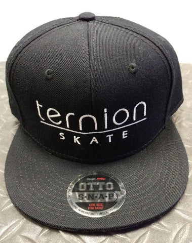 Ternion - Black Snapback Hat - California Roller Skates