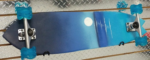 Ternion -  Full Moon Kiss Custom Complete Skateboard - California Roller Skates