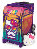 Zuca Sport - Hello Kitty Beach Bum Insert & mini pouch Wheeled Skate Bag