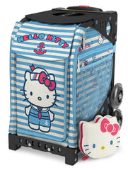 Zuca Sport - Hello Kitty Sail With Me Insert & mini pouch Wheeled Skate Bag